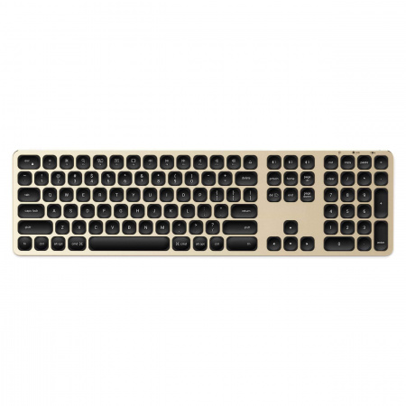 Satechi Aluminum Bluetooth Wireless Keyboard for Mac - US - Gold