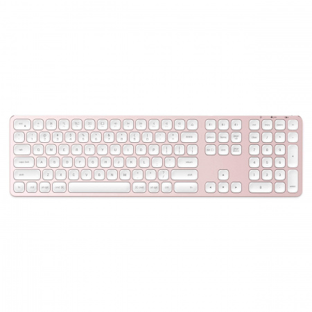 Satechi Aluminum Bluetooth Wireless Keyboard for Mac - US - Rose Gold