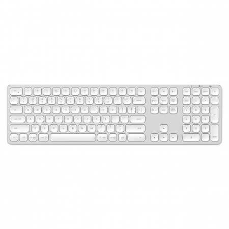 Satechi Aluminum Bluetooth Wireless Keyboard for Mac - US - Silver