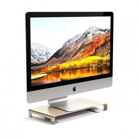 Satechi Slim Aluminum Monitor Stand - Gold
