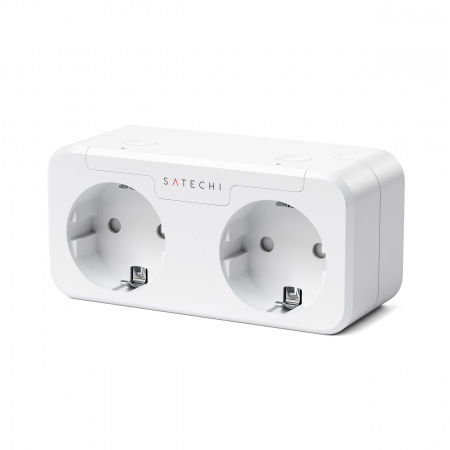 Satechi Apple Homekit Dual Smart Outlet (EU) - White