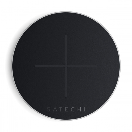 Satechi Aluminum TYPE-C Fast Wireless Charger V2 - Silver