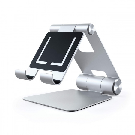 Satechi Aluminium R1 Adjustable Mobile Stand - Silver