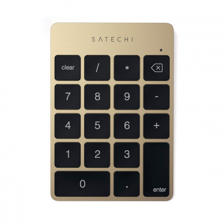 Satechi Aluminum Slim Wireless Keypad - Gold