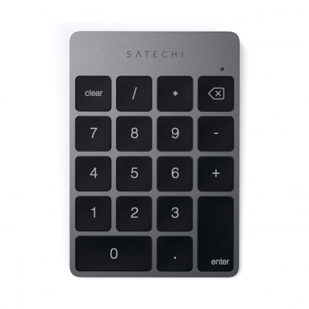 Satechi Aluminum Slim Wireless Keypad - Space Gray