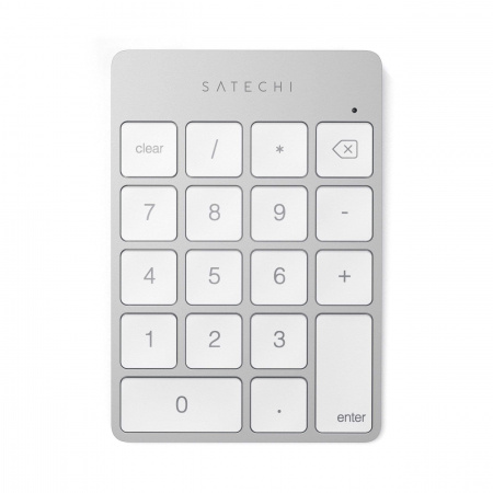 Satechi Aluminum Slim Wireless Keypad - Silver