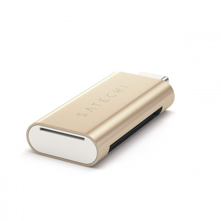 Satechi TYPE-C USB Card Reader - Gold