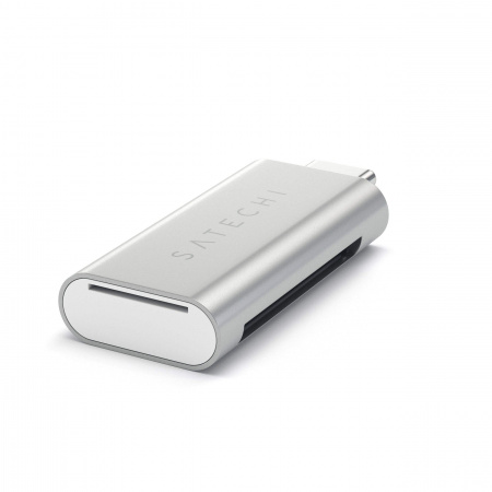 Satechi TYPE-C USB Card Reader - Silver
