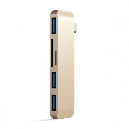 Satechi Type-C USB Hub - Gold