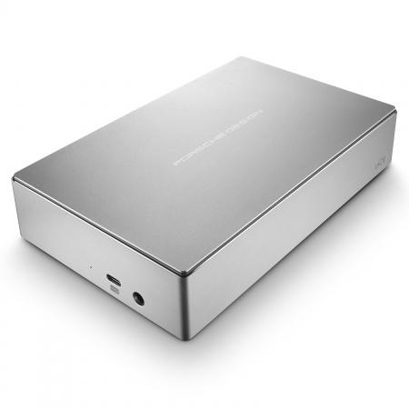 LaCie 8TB Porsche Design 3.5 USB 3.0 Type C - Silver