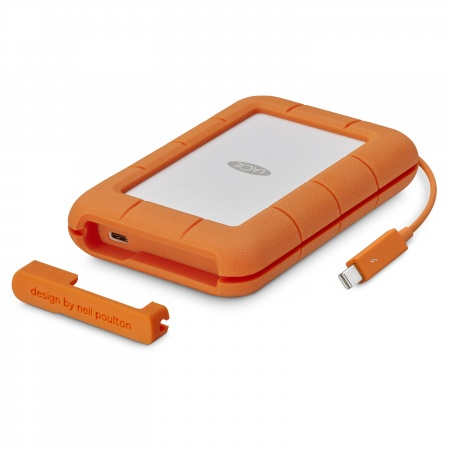 Lacie 1TB SSD Rugged Thunderbolt & USB 3.1 Type C