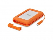 Lacie 2TB Rugged Thunderbolt & USB 3.1 Type C w integrated cable