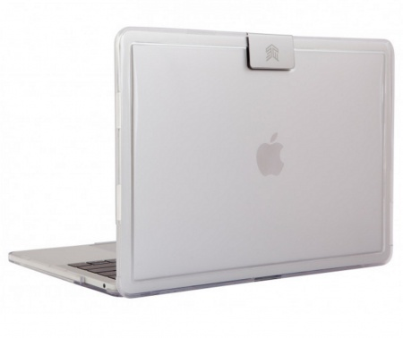 STM Hynt Fitted case for Macbook 13inch (2016) - clear