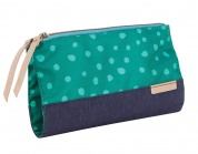 STM Grace Clutch - teal dot/night sky