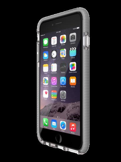 Tech21 Evo Mesh  obal na iPhone 6/6S Plus - transparentní/šedá