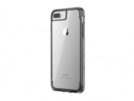 Griffin INTL Survivor Clear iPhone 8 Plus, iPhone 7 Plus, 6s Plus, 6 Plus - Black/Smoke/Clear