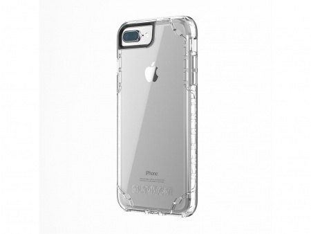 Griffin INTL Survivor Clear iPhone 8 Plus, iPhone 7 Plus, 6s Plus, 6 Plus - Clear