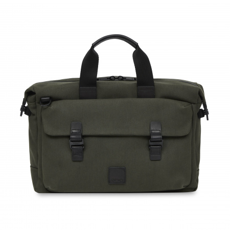 Knomo TOURNAY Topload Briefcase 15inch  - Forest Green