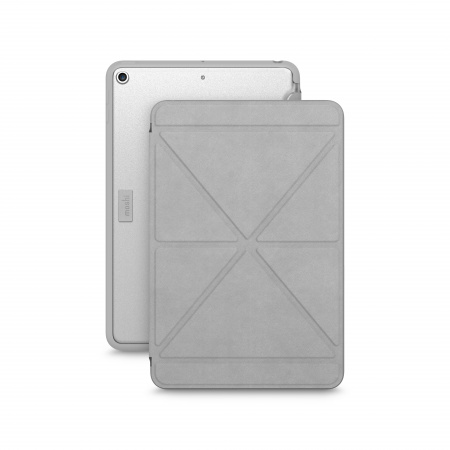 Moshi VersaCover for iPad mini (5th Gen) - Stone Gray