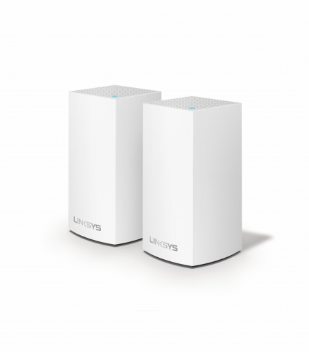 Linksys Velop Intelligent Mesh WiFi System, 2-Pack White (AC2600)